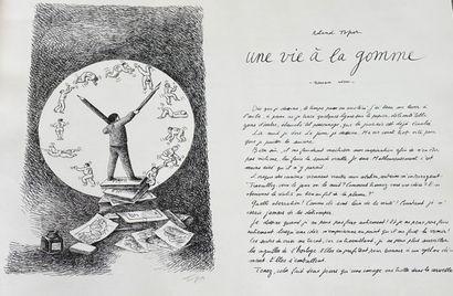 (Roland TOPOR )(1938-1997)  Une vie à la...