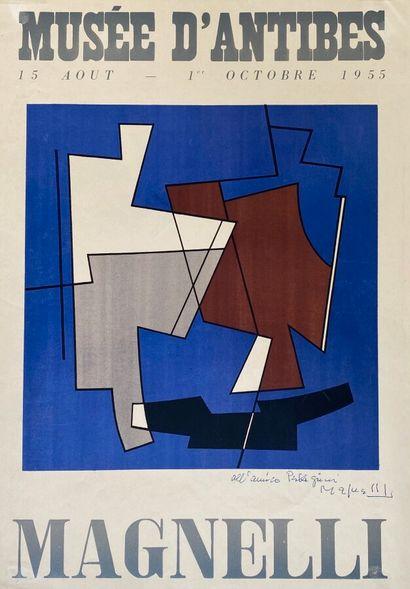 Alberto MAGNELLI (1888 - 1971)  Exposition...
