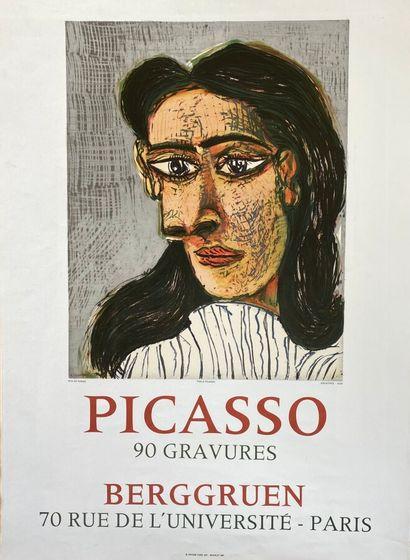 Pablo PICASSO (1881-1973)  Galerie Berggruen,...