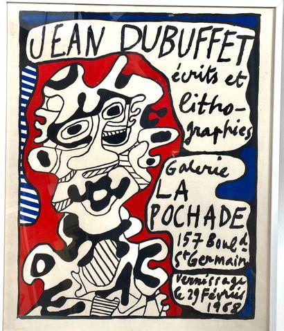 Jean DUBUFFET (1901-1985)  Ecrits et Lithographies,...