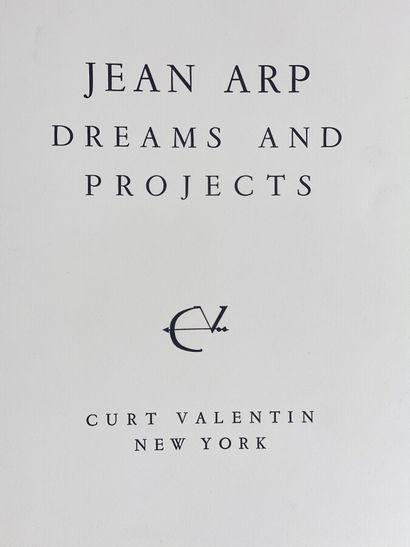 (Jean ARP/ Hans ARP) (1886-1966)  Jean Arp,...