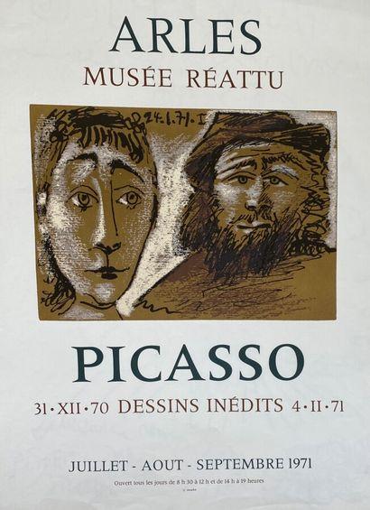 Pablo PICASSO (1881-1973)  Picasso , Dessins...