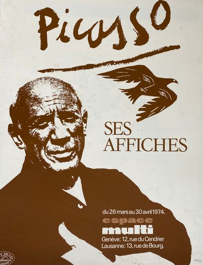 Pablo PICASSO (1881-1973)  Ses Affiches ,...