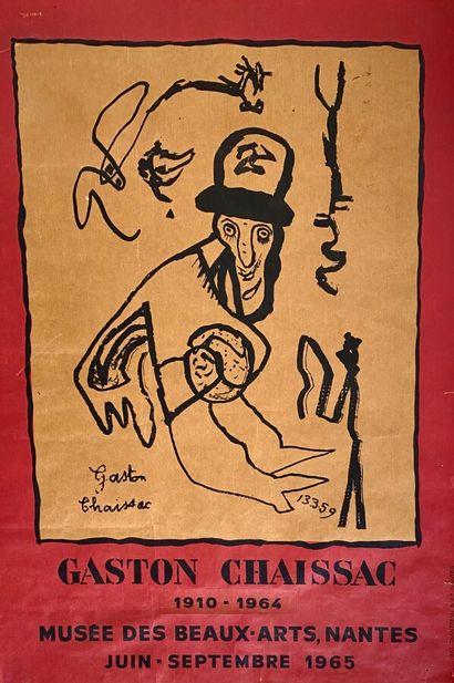 Jean DUBUFFET (1901-1985) - Gaston CHAISSAC...