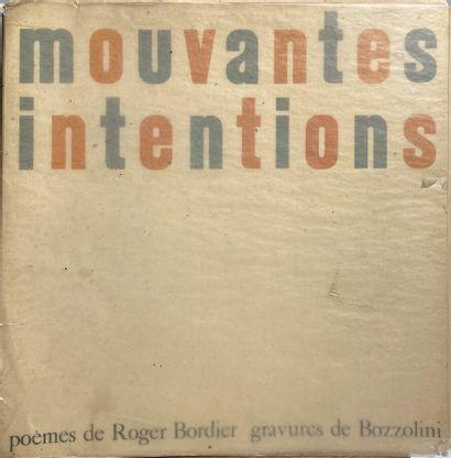 (SILVANO BOZZOLINI) (1911-1998)  Roger Bordier,...