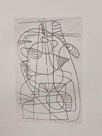 (André LANSKOY) (1902-1976)  Pierre Lecuire,...
