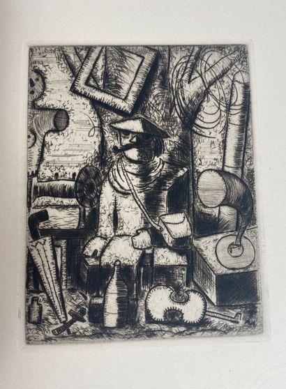 (Thadée MAKOWSKI) (1882- 1932)  Noël Bureau,...