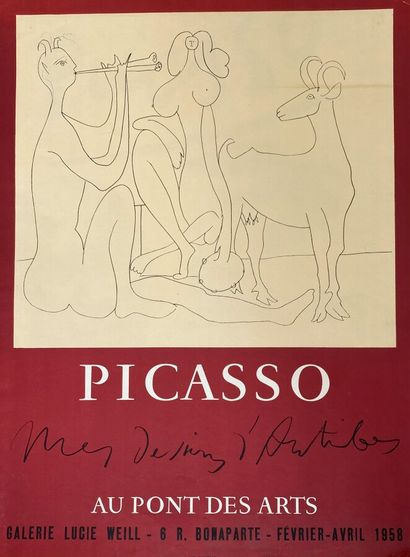 Pablo PICASSO (1881-1973)  Mes Dessins d'Antibes,...