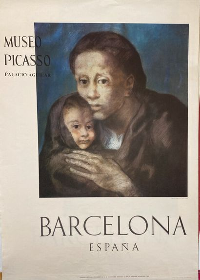 Pablo PICASSO (1881-1973)  Mère et Enfant...