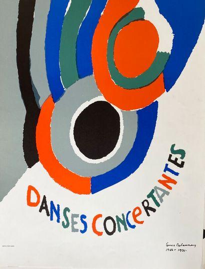 Sonia DELAUNAY (1885-1979)  Danses Concertantes,...