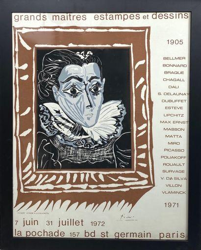 Pablo PICASSO (1881-1973)  Grands Maitres...