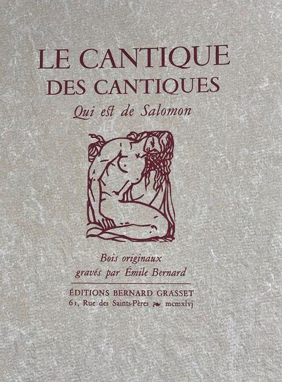 (Emile BERNARD) (1868-1941)  Le Cantique...