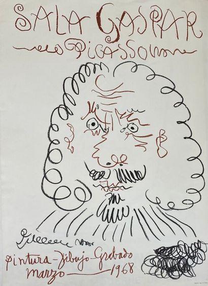 Pablo PICASSO (1881-1973)  Sala Gaspar, Pintura...