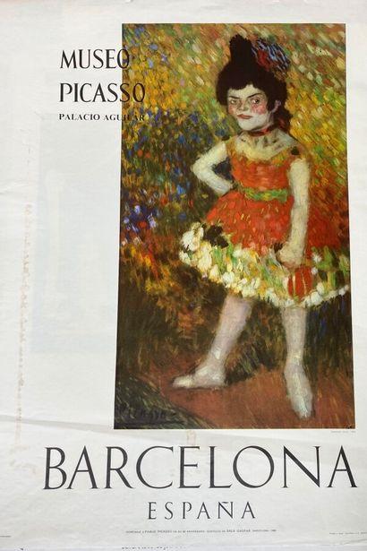 Pablo PICASSO (1881-1973)  La danseuses naine...