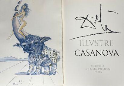 (Salvador DALI) (1904-1989)  Casanova, Au...