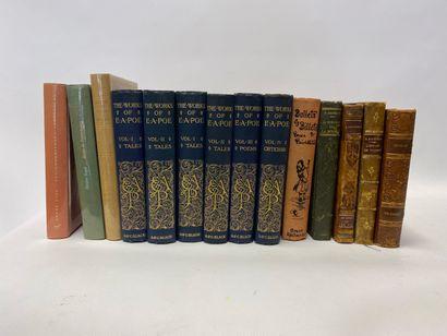 Lot de 20 reliés ou brochés, Edgar Allan Poe, Fénelon, Gogol, Balzac, George Sand et divers.