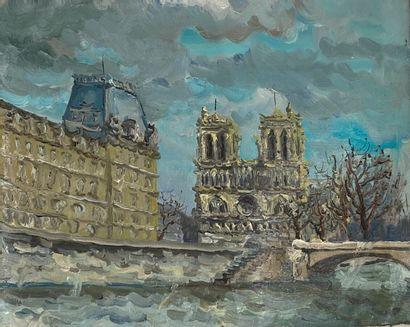 Ecole française XXème siècle