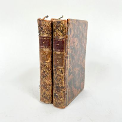 Ricciardeto di Nicolo Carteromaco. 2 volumes....