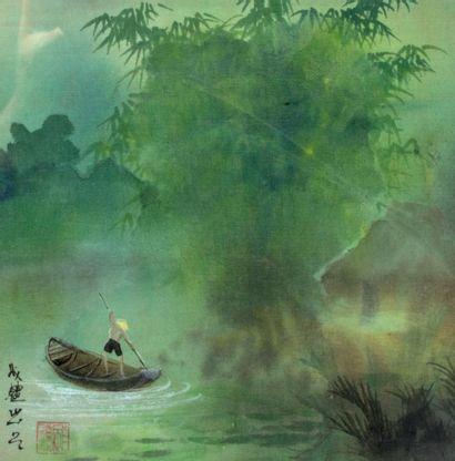 ECOLE VIETNAMIENNE / INDOCHINOISE (Vietnam / Indochine, XXe siècle)