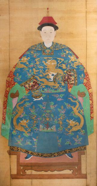 CHINE - Fin du XIXème siècle