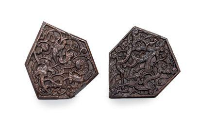Deux beaux polygones d'assemblage Mamelouks...