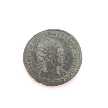 Volusien (251-253). Syrie. Grand bronze au...