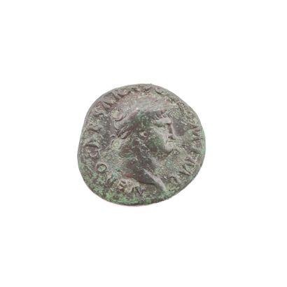 Néron (54-68). As au temple de Janus, 65...