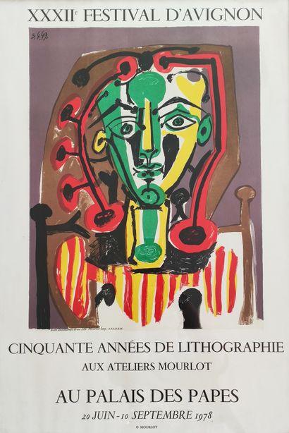 Pablo PICASSO • - Picasso lithographie, vol. IV (1956-1963), André Sauret, Monte...