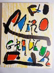 Joan MIRO - Jacques Dupin, Miro graveur.