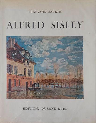 ALFRED SISLEY - François Daulte, Alfred Sisley.