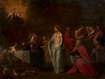 École flamande du XVIIème siècle, entourage de Willem van HERP (Anvers, 1614-1677)...