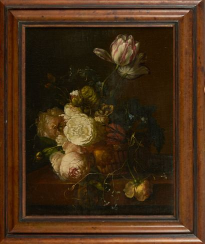 Dans le goût de l'école flamande du XVIIème siècle