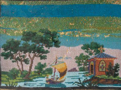 «Barque dans un paysage» et «Mater Dei» Deux...