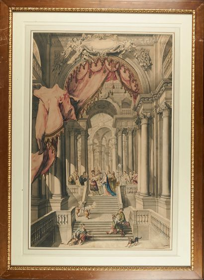 Ecole AUTRICHIENNE du XVIIIème siècle La Circoncision de Jésus La présentation de...
