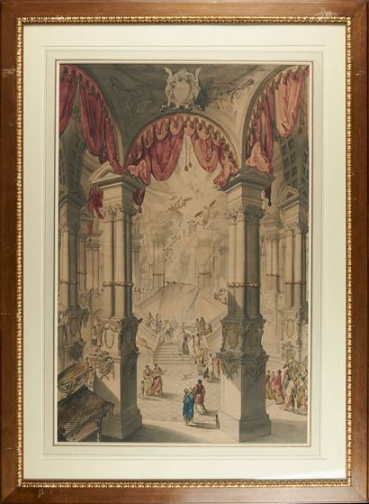 Ecole AUTRICHIENNE du XVIIIème siècle