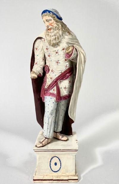 Grand personnage en céramique symbolisant...