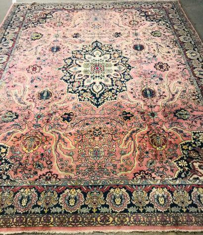 Tapis Iranien Sarouk 394 x 300 cm