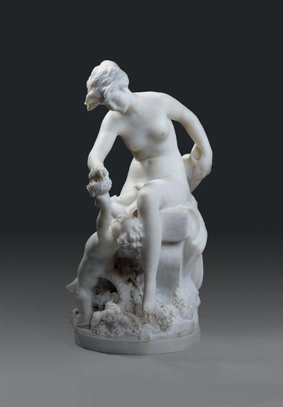 CARRIER-BELLEUSE Louis-Robert (1848 - 1913 Français)