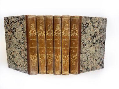 L'Abbé DU CLOT, 1816  La Sainte Bible vengée...