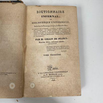 Jacques COLLIN DE PLANCY. Dictionnaire infernal....