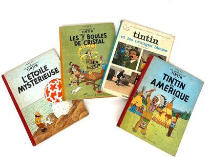 Les aventures de Tintin, HERGE, éditions...