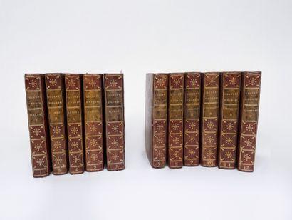 HOMERE.  L'Iliade, 3ème édition, chez Didot...
