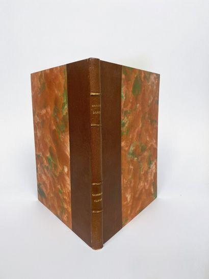 Comte Arnauld DORIA. Gabrielle Capet  Edition...