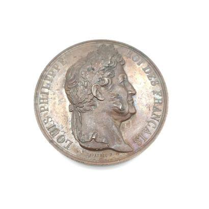 Louis Philippe Ier (1830-1848). Médaille...