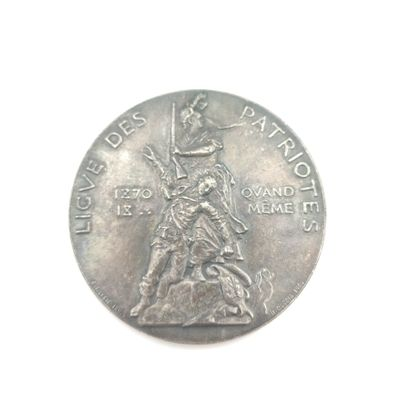 IIIe République (1870-1940). Médaille en...