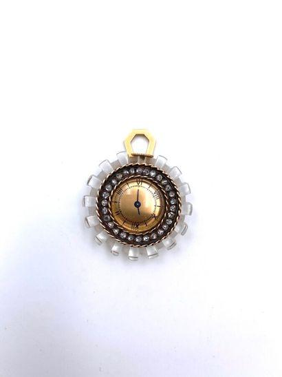 FRINGHIAN  RareMONTRE PENDENTIFen or jaune(750...