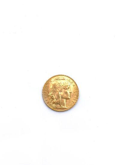 Pièce de 20 francs or