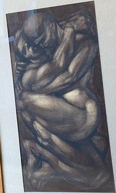 Ecole Xxème.Michel PORTIER, 1998. Couple...