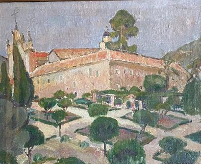 SMD SOUTRA . Atelier de M Denis Le monastère...