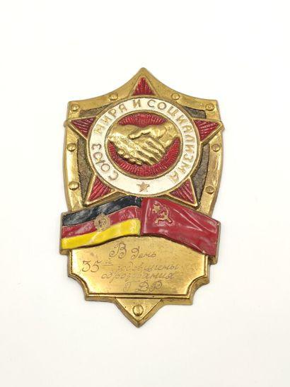 Russie. U.R.S.S. (1922-1991). Médaille en...